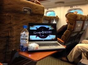 Shinkansen'in içi