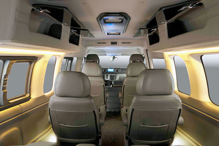 The Nissan Urvan Premium S Will Let You Travel First Class