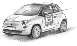 B-Spec Fiat 500 Racer