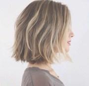 mid length choppy bob hairstyles