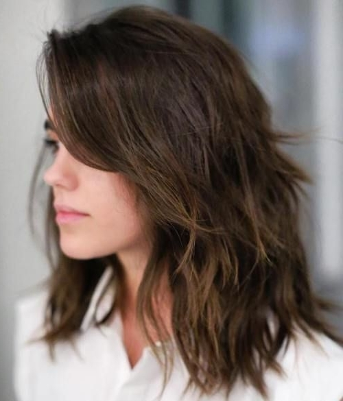 Image Result For Sensational Medium Length Haircuts For Thick Hair