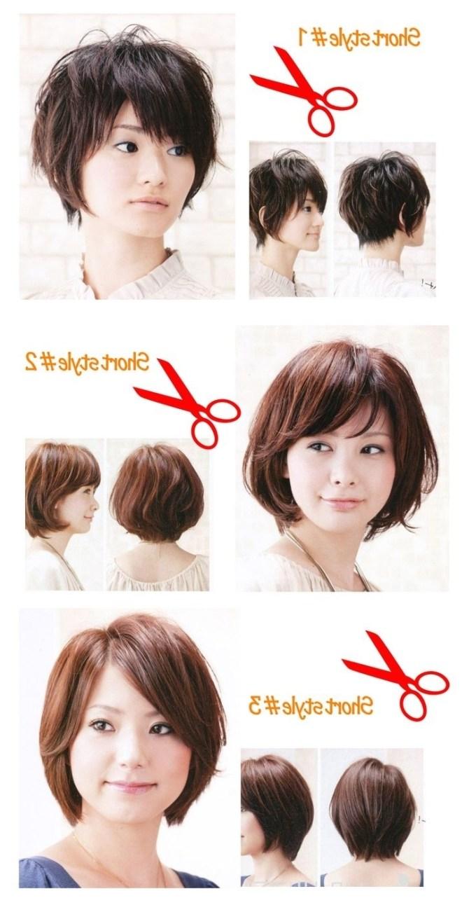 Short Hair For Round Face 2018 Asian Hairsjdi