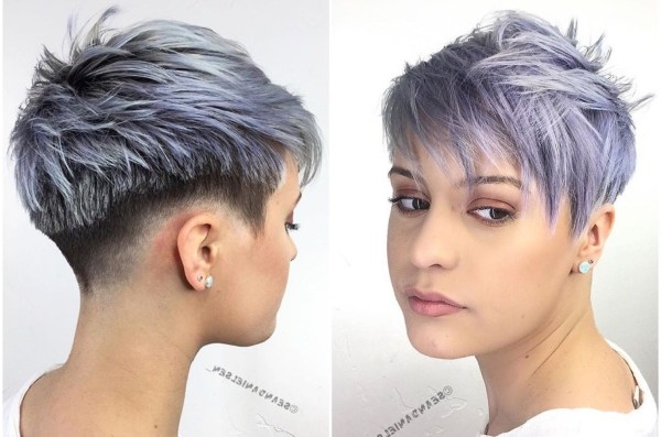 Funky Colored Pixie Haircuts Imgurl