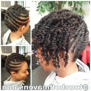 of 2 strand twist updo hairstyles