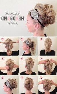 15 Best Collection of Easy Diy Updos For Medium Length Hair