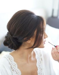 15 Best Collection of Low Bun Updo Wedding Hairstyles