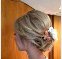 Wedding Guest Hair Updo With Fascinator