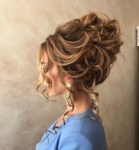 Wedding Hairstyles For Long Curly Hair Updos Images