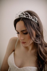 15 Collection of Wedding Hairstyles With Crown