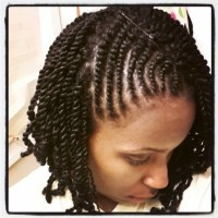 15 Best Collection of Braided Hairstyles With Real Hair