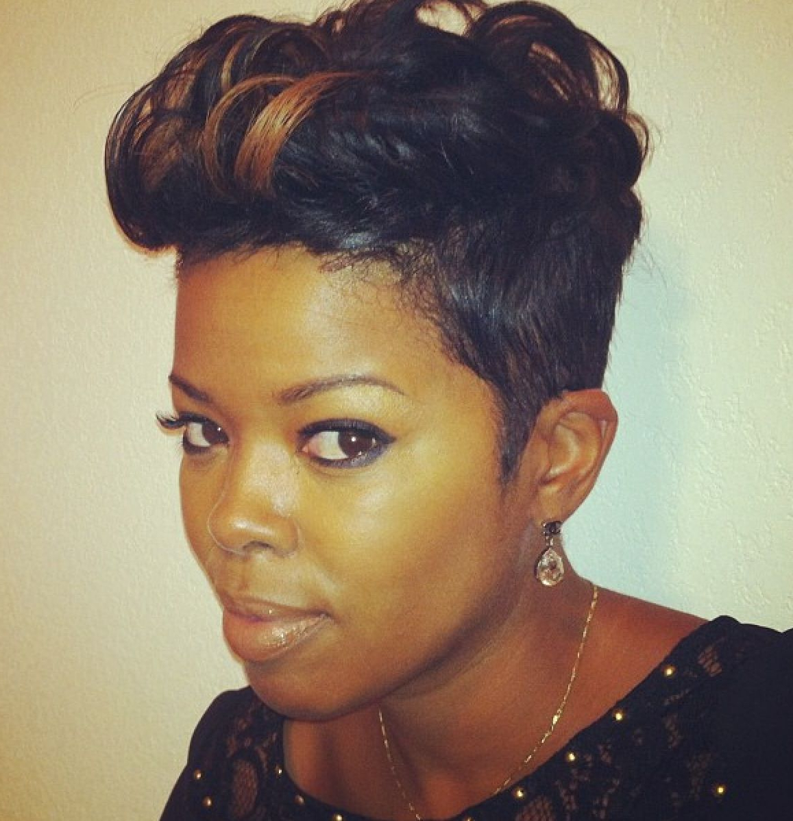 hairstyles short relaxed hair