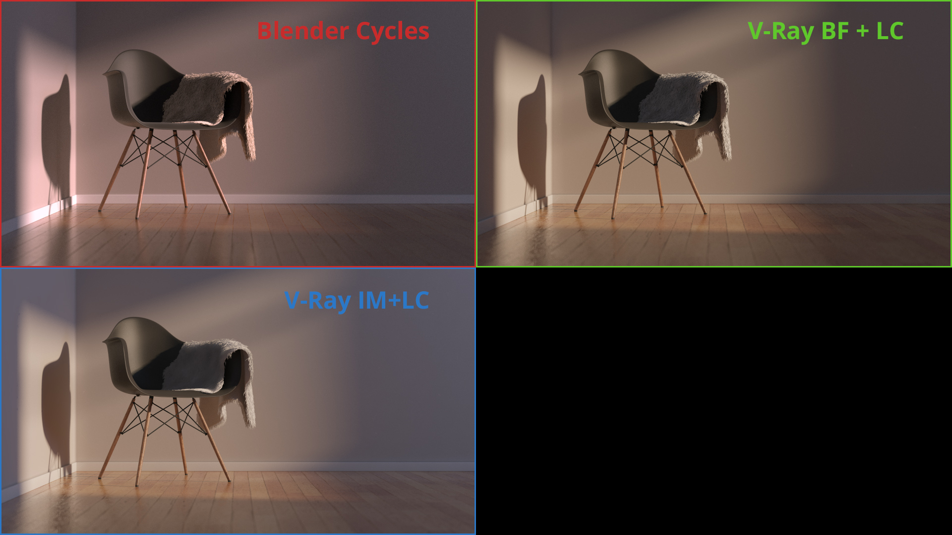 Blender Cycles vs VRay  Which one is better