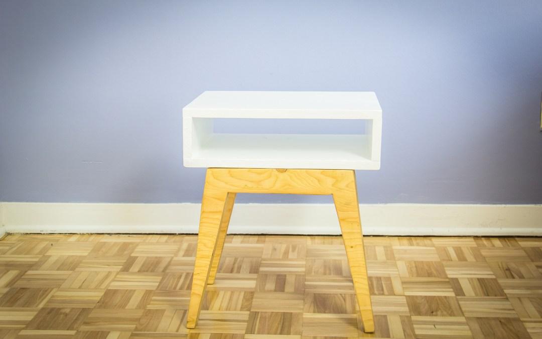 Comment fabriquer une table de chevet scandinave – EP13