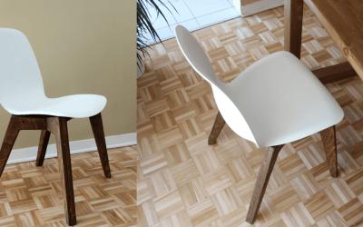 Comment fabriquer une chaise scandinave – EP15