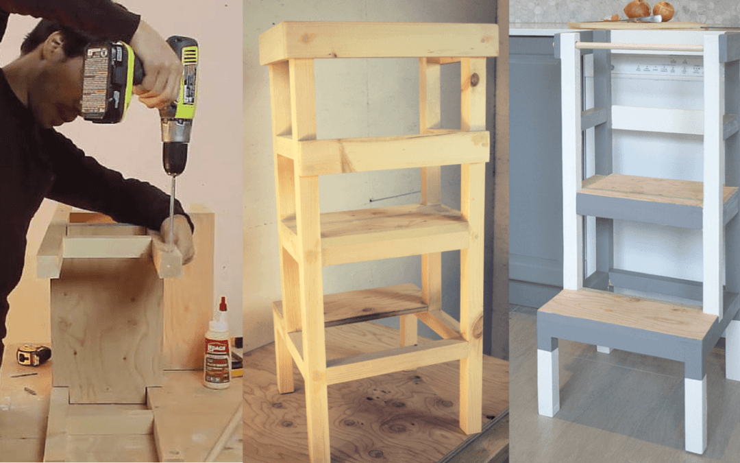 Comment faire une tour d'apprentissage (tabouret) – EP17