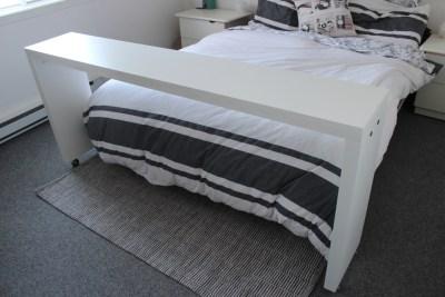 Comment fabriquer une table de lit (table d'appoint)
