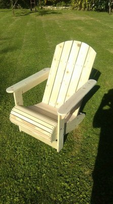 Hugues Henaux juillet 2016 - Chaise Adirondack 2