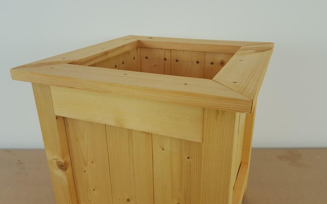Comment faire une jardini u00e8re en bois u2013 EP26 # Fabriquer Une Jardiniere En Bois