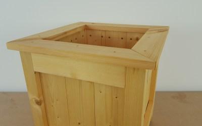 Comment faire une jardinière en bois – EP26