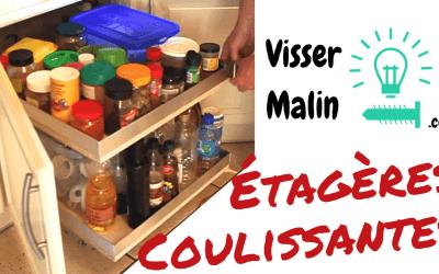 Comment faire des étagères coulissantes – EP25