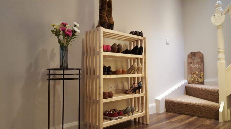 comment faire un meuble chaussures. Black Bedroom Furniture Sets. Home Design Ideas