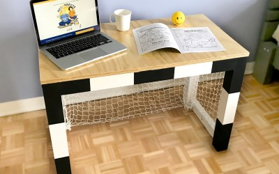 Chambre vissermalin - Fabriquer un bureau pour enfant ...