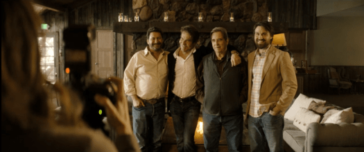 The Big Four at Big Sur in Goliath Season 3: The weird and the wonderful. Dennis Quaid and Beau Bridges plus two.