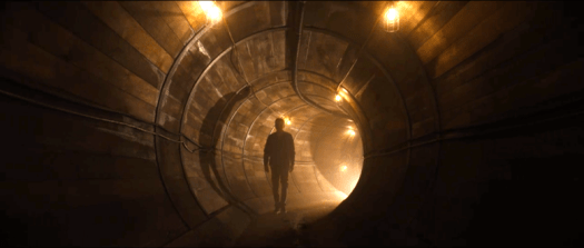 Goliath Season 3: The weird and the wonderful. Billy McBride (Billy Bob Thornton) finds the illegal tunnel being dug by Diana Blackwood.