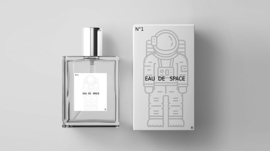 Eau de Space Kickstarter project 2020. In blog Scent from Heaven, the smell of space.