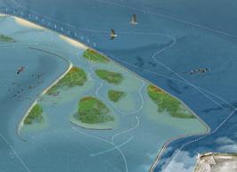 Ontwerpend onderzoek Houtribdijk Marker Wadden