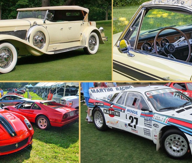 Wright Agency Cars Of The Week More Cars Than You Can Count This Weekend At Radnor Hunt Concours Delegance