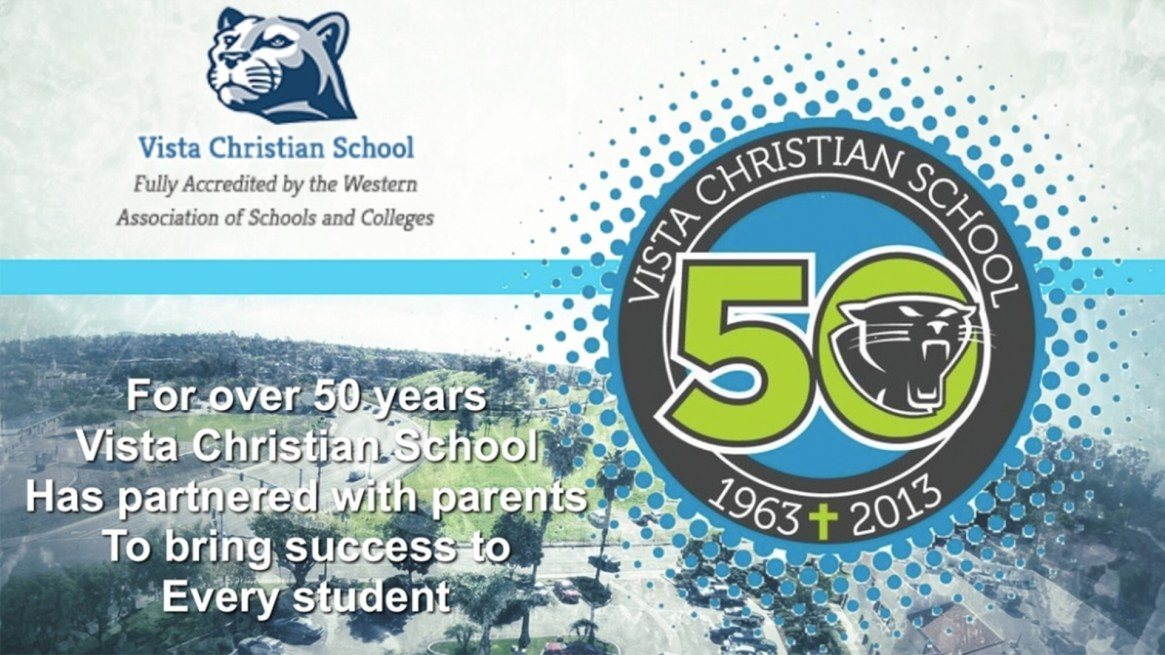 Vista Christian School 50 Years