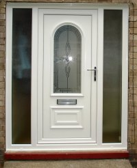 Uvpc Doors & White UPVC Fully Glazed Front Door