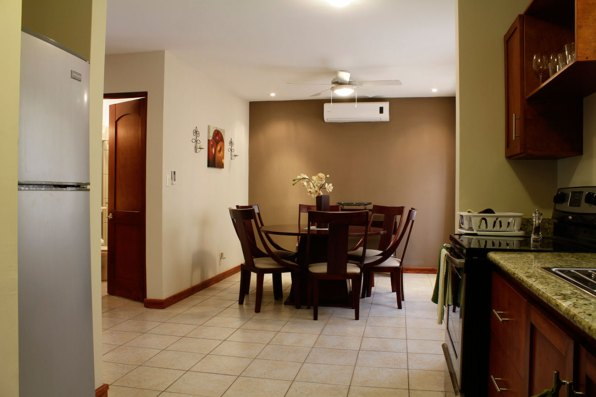 Dining Area in our Three Bedroom Villa