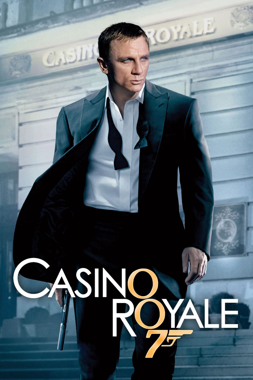 daniel craig casino royale poster