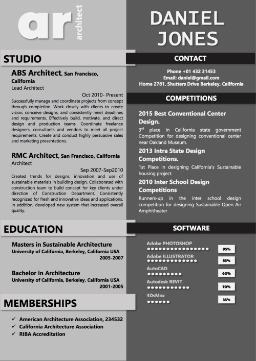 resume_architect_black_grey_two_column
