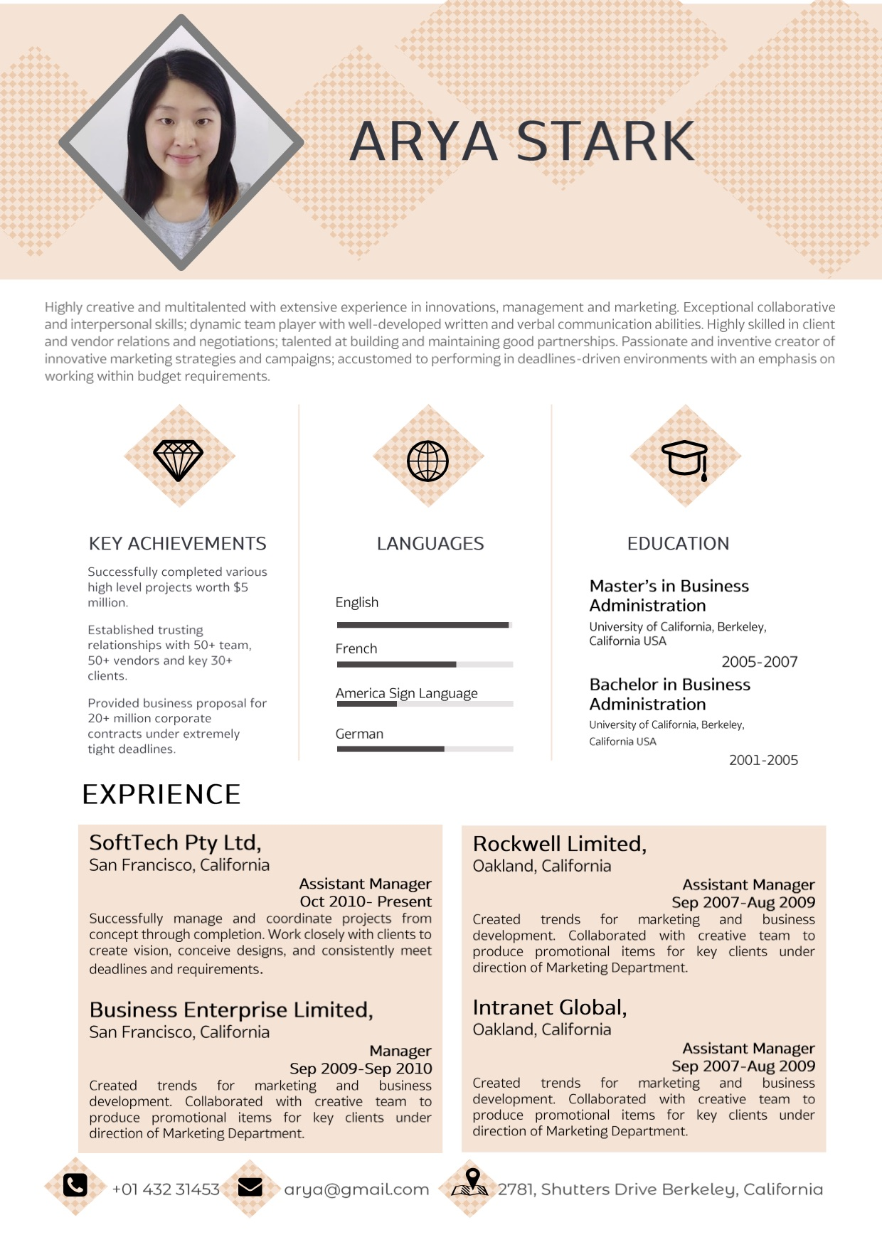 pink_professional_word_resume_cv_template