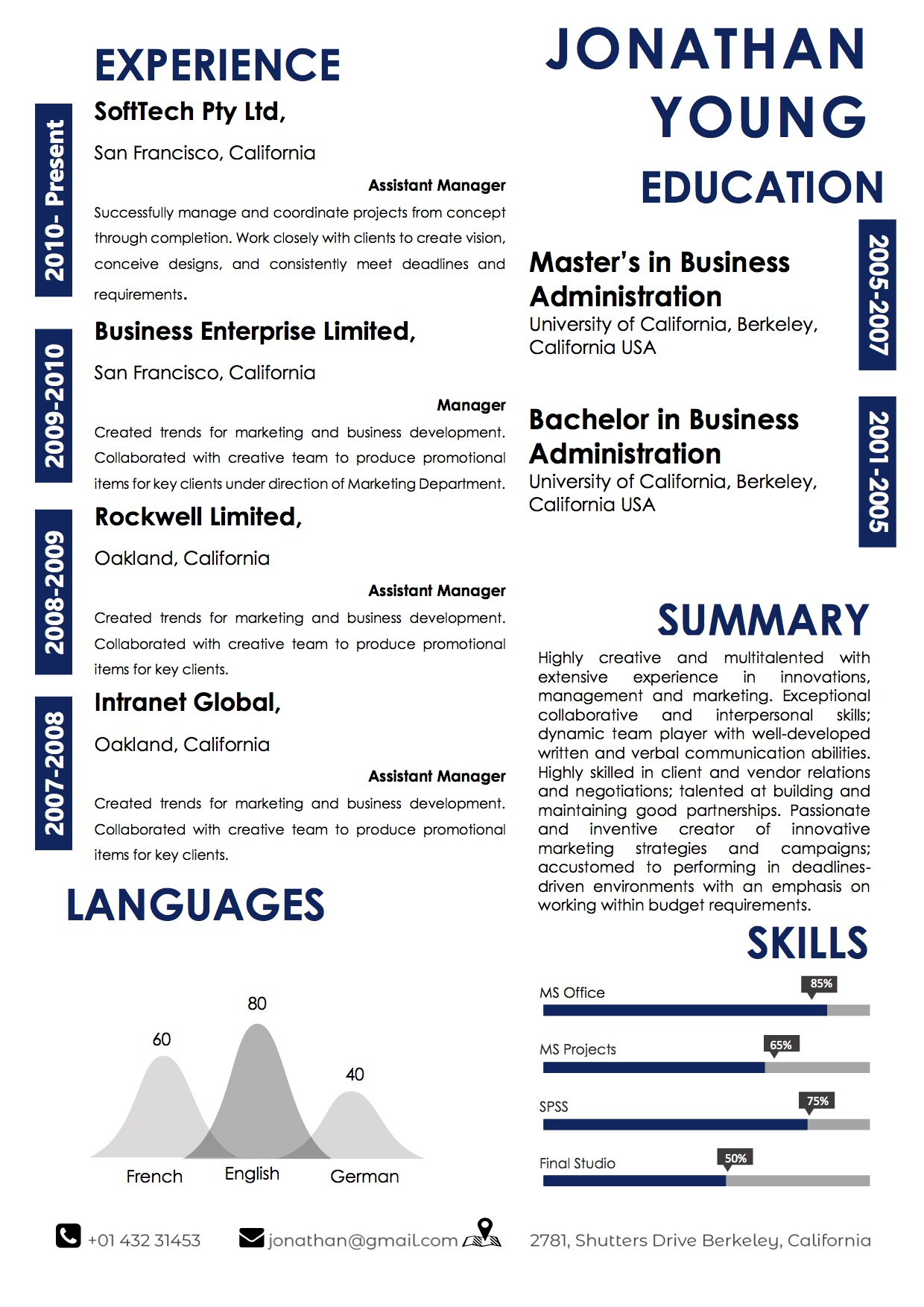 best_resume_template_professional_layout
