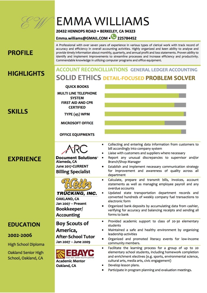 free_word_resume_template_green