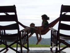 Sisterly advice on hammocking