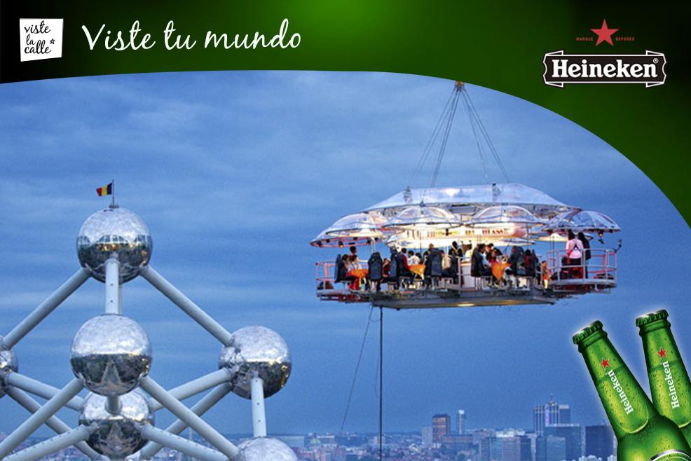 Dinner In The Sky, una experiencia gastronómica en altura #HeinekenLife