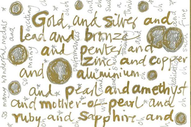 Joanna Lumley doodle