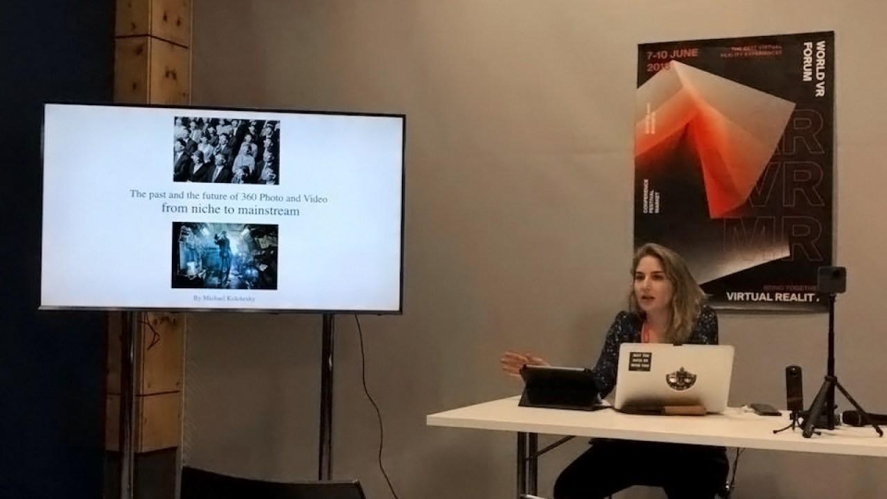 World VR Forum #WVRF18 – Masterclass
