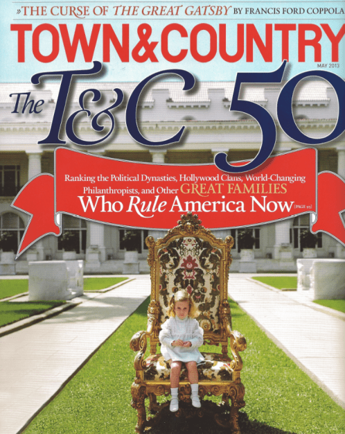 Town&Country May 2013 Cover