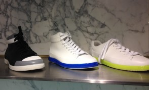 Prada sneakers at Barneys