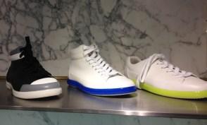 Prada sneakers at Barneys