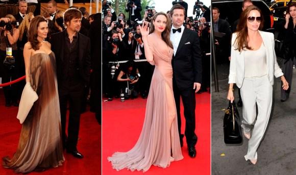 Angelina Jolie's chic Style