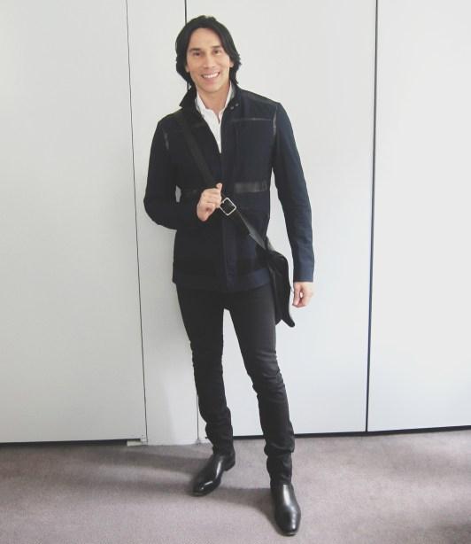 Jesse Garza Bottega Veneta Jacket