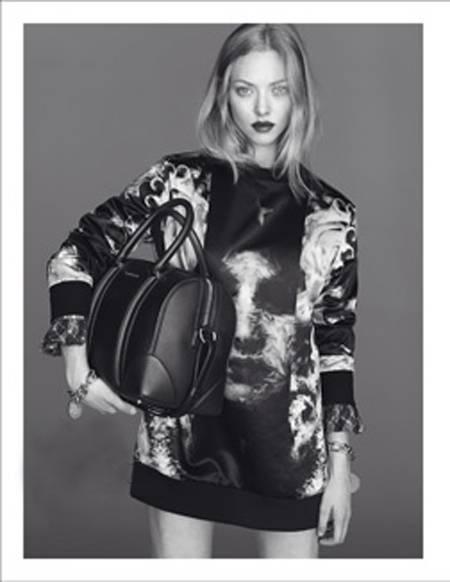 Amanda Seyfried Givenchy Fall 2013 ad campaign with bag