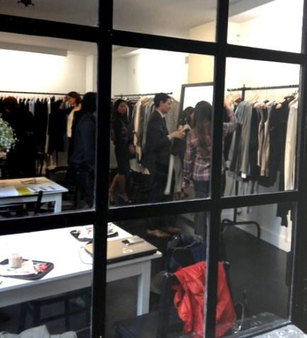 Ann Demeulemeester Showroom Paris